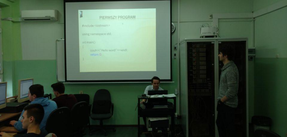 "Programowanie – ""Wolontariat na start"" C++"