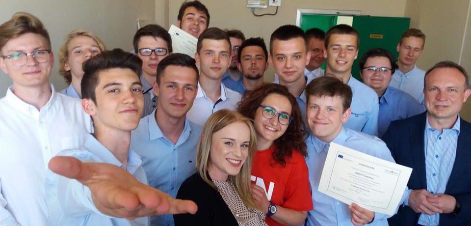 Grupa uczniów z Informatyka kończy swój staż w Portsmouth. Kolejny wyjazd już wkrótce.