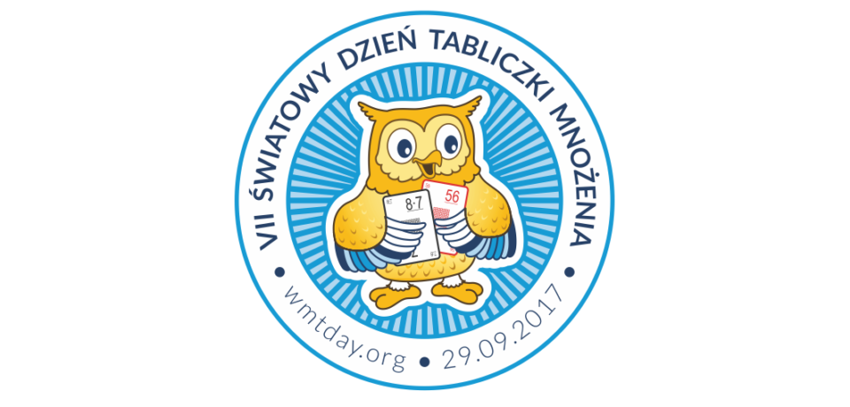 VII Światowy Dzień Tabliczki Mnożenia – 29 września 2017 r.