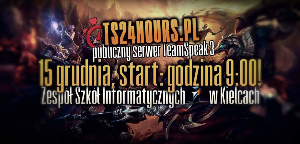 Turniej w League of Legends 15.12.2017 r.