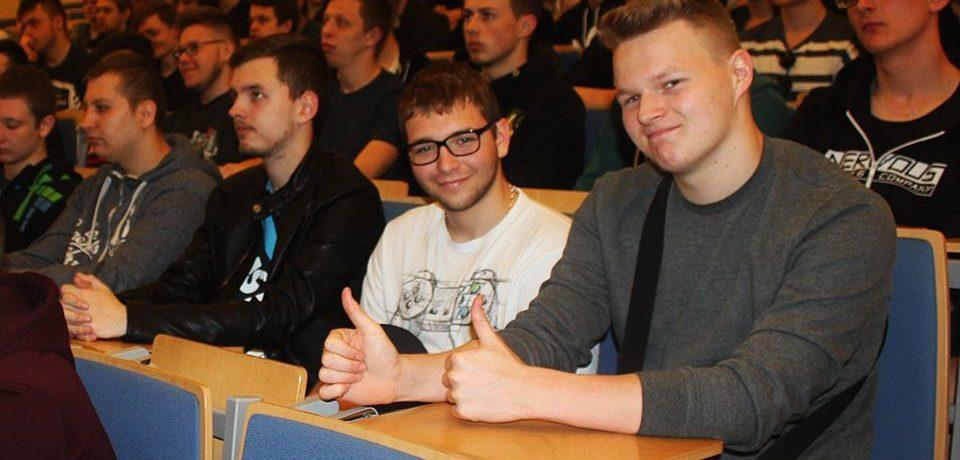 Uczniowie ZSI na Dniu Otwartym Politechniki Świętokrzyskiej