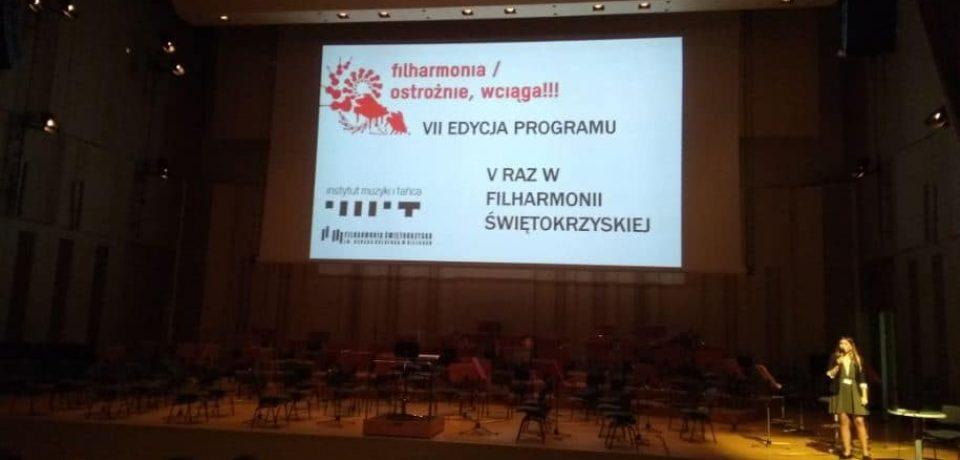 Filharmonia. Ostrożnie, wciąga